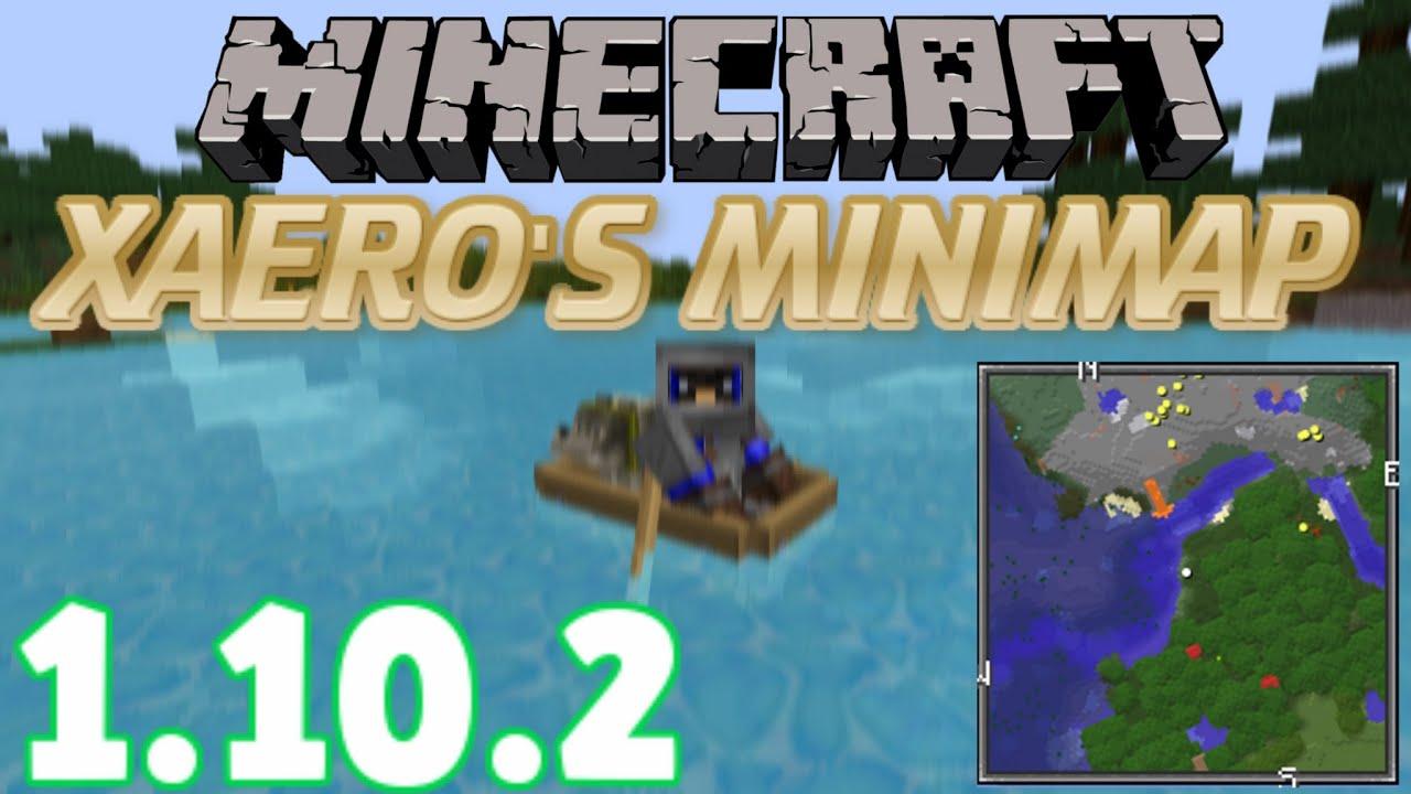 How To INSTALL Xaeros Minimap Mod With Forge Minecraft - Mini map para minecraft 1 10 2