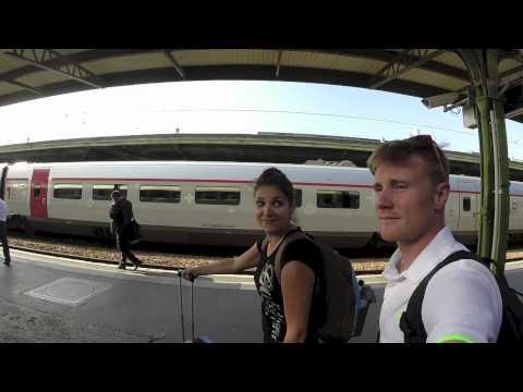 TRAVEL GUIDES: FRANCE (PARIS to LYON via TRAIN) + GoPro Hero 3