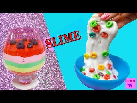 Реальная еда в виде лизуна Slime