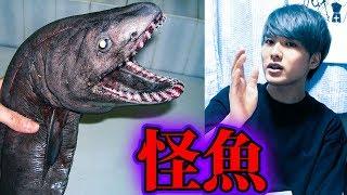 深海で発見された恐ろしい深海魚…