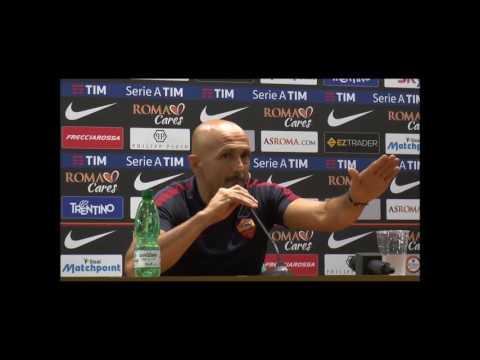 """Spalletti post Sampdoria: """"Per me Totti può continuare a giocare un altro anno"""""""