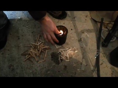 How to start a wood gasifier