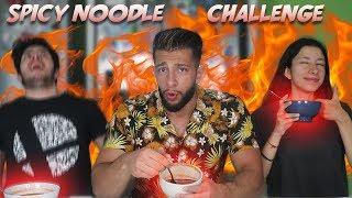 LES NOUILLES LES PLUS ÉPICÉES DU MONDE Spicy Noodle Challenge