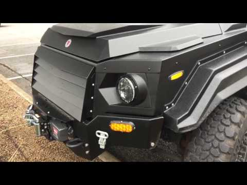 TERRADYNE GURKHA RPV - $350K Armored Civilian Vehicle 7.62 R