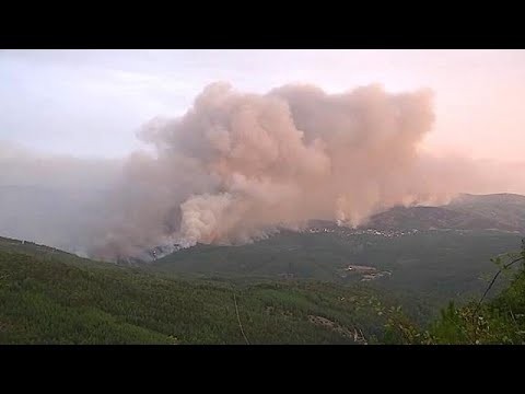 Incêndios causam 36 mortos em Portugal