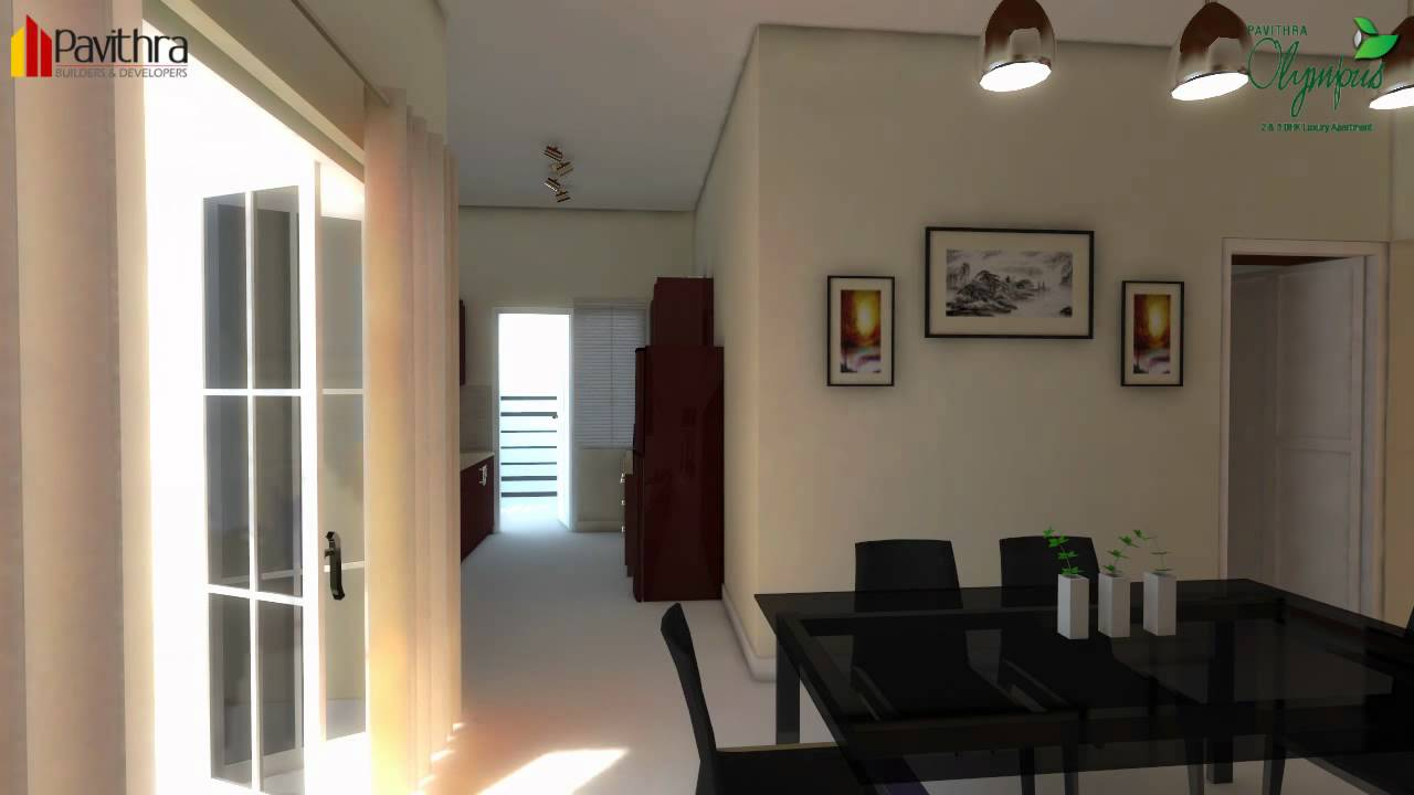 Interior design 2 bedroom apartment india for 2 bhk interior decoration