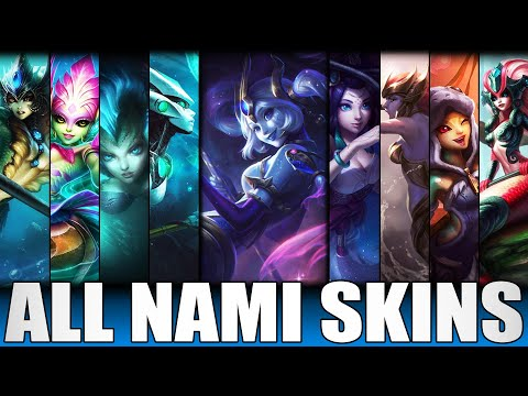 All Nami Skins Spotlight 2020 - Including Cosmic Destiny Nami