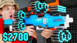 Top 10 MOST EXPENSIVE Nerf Blasters