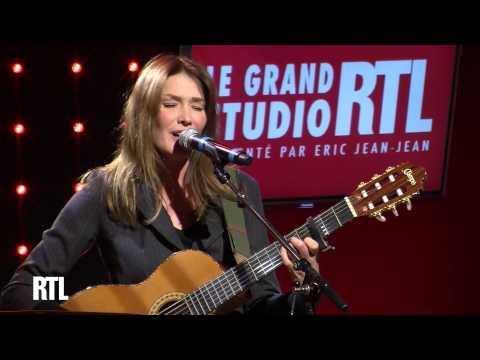 Carla Bruni - Chez Keith et Anita en live dans le Grand Studio RTL - RTL - RTL