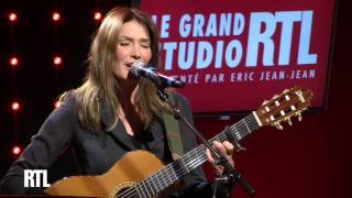 Carla Bruni - Chez Keith et Anita en live dans le Grand Studio RTL