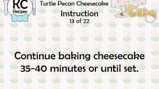 Turtle Pecan Cheesecake - Kitchen Cat