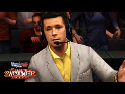 "WWE Smackdown vs Raw 2011 - ""SHUT UP COLE!!"" (Road To WrestleMania/RTWM Ep 1)"