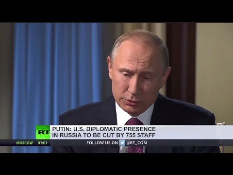 Download Youtube: Putin: 755 US diplomats to depart Russia, time to show we won't leave anything unanswered