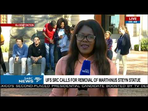 UFS SRC calls for removal of Marthinus Steyn statue