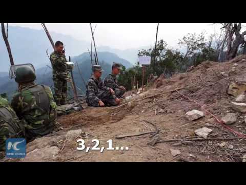 So Close To Death! How Chinese Soldiers Clear Mines