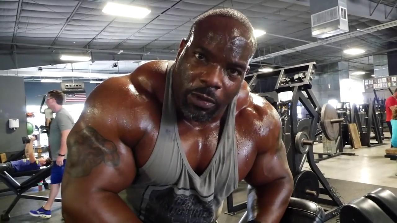 Download Johnnie Jackson- 2016 Shoulders Workout