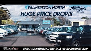 2 Cheap Cars Palmerston North Great Summer Road Trip Sale is on this weekend!
