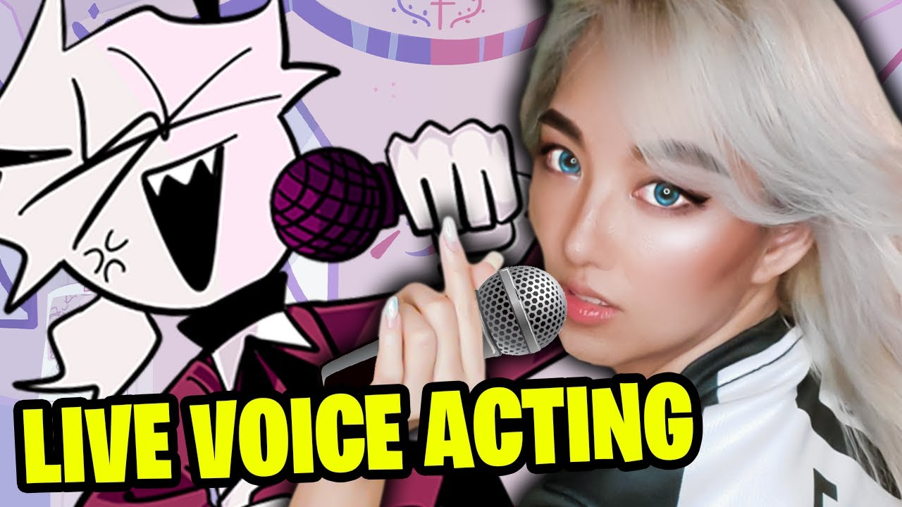 FRIDAY NIGHT FUNKIN' SELEVER LIVE VOICE ACTING: Mid-Fight Masses Mod
