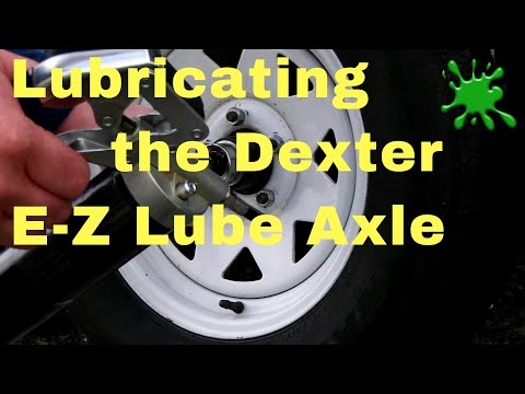Lubricating the Dexter E-Z Lube Axle Bearing System