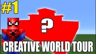 Creative World Tour #1 70+ Builds tour