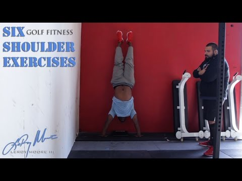 Golf Fitness: Six Shoulder Exercises for Golfers