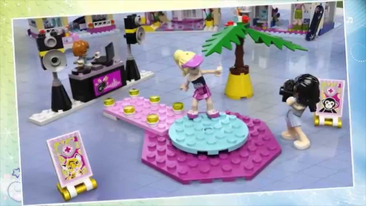 how to build a lego shopping mall