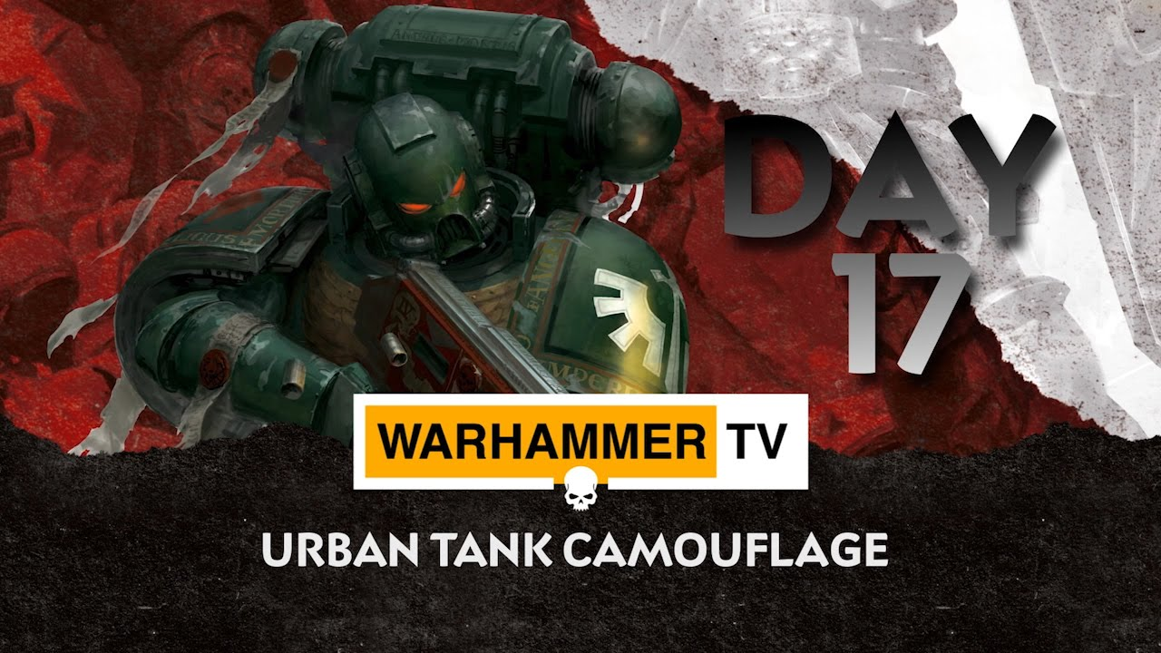 Urban Tank Camouflage - Advent Calendar Day 17