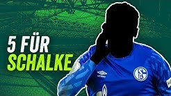 FC Schalke 04: 5 Transfers für 20/21!