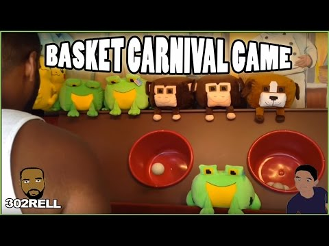 Ball In Basket Midway Carnival Game