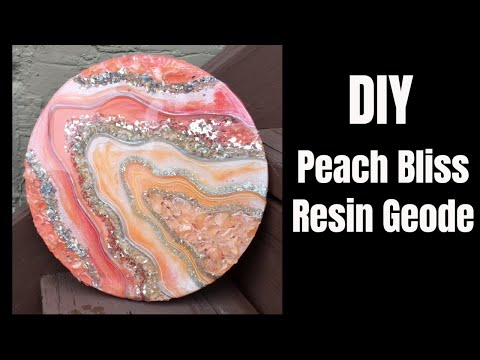 15. How to Make a Gorgeous Resin Geode - So Fun and Easy!