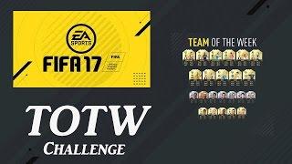 Fifa 17 team of the week challenge (totw)