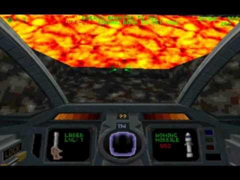 DOS Game: Descent 2