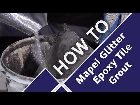 How to Add Sparkle to Quartz Floor Tiles with Mapei Glitter Epoxy Grout - Tile Mountain