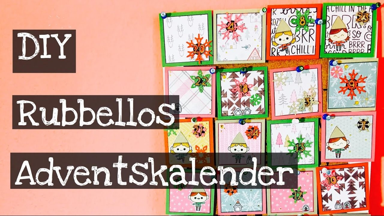 diy rubbellos adventskalender tutorial deutsch youtube. Black Bedroom Furniture Sets. Home Design Ideas