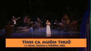 Biển Sầu Mênh-Mông - Trần Thu Hà-Dang Khanh-Tinh Ca Muon Thuo 2012