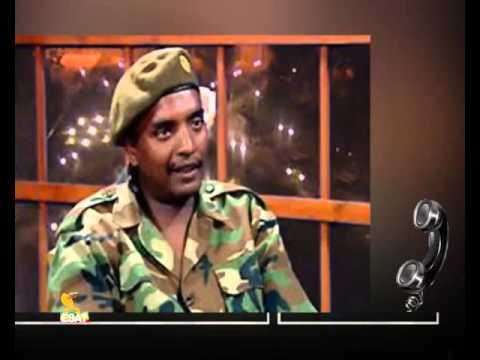 ESAT HR  Brigadier General Hailu Gonfas Message for the ETHIOPIAN ARMY  ESAT TUBE