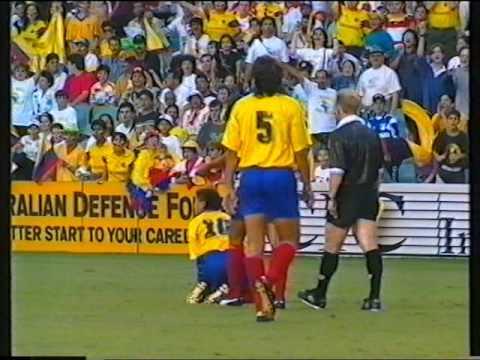 1995AustraliavColombia Sydney