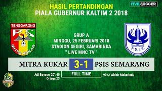 Hasil Borneo FC vs PSIS Semarang dan klasemen sementara grup A PGK 2018