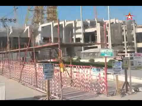 Стадион на костях при подготовке к чм мира по футболу погибли сотни рабочих