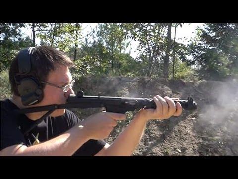 FULL AUTO 9mm Sterling submachine gun