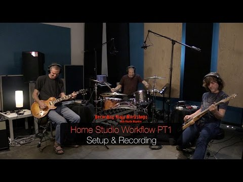 Home Studio Recording Workflow PT1