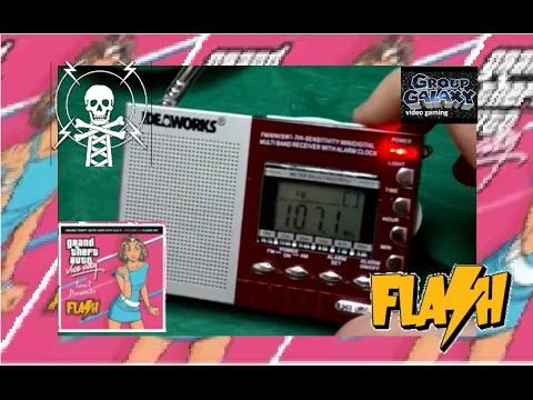 GTA Vice City flash FM pirate radio in my neighborhood