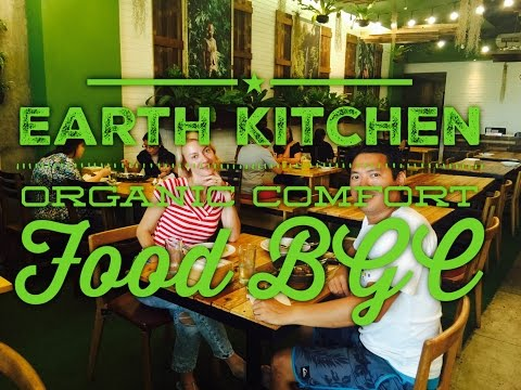 Earth Kitchen Organic Comfort Food Bonifacio High Street Cen