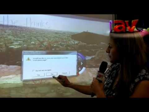 synnex dalite explains idea cart interactive white board u0026 rear projection screen cart