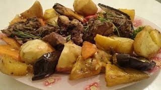 Баранья нога в духовке Рецепт запеченная с овощами вкусно Вторые блюда из мяса Баранины - праздник