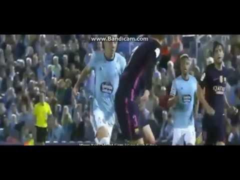 Celta de Vigo vs Barcelona 4-3 All Goals & HILIGHTS - La Liga 16/17 1º Tiempo