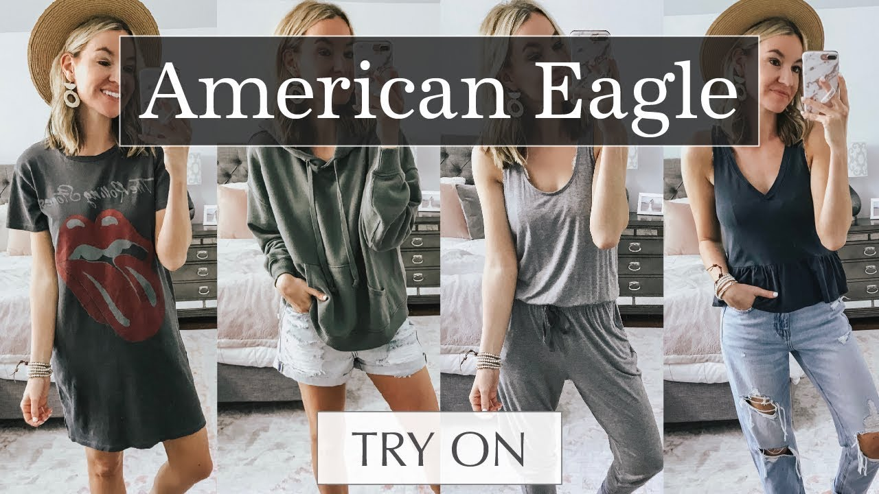 American Eagle & Aerie Try-On Haul