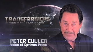 Transformers: Rise of the Dark Spark - Behind The Scenes with Peter Cullen (EN)