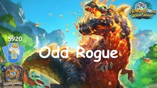 Hearthstone: Odd Rogue Post-Nerf #10: Witchwood (Bosque das Bruxas) - Standard Constructed