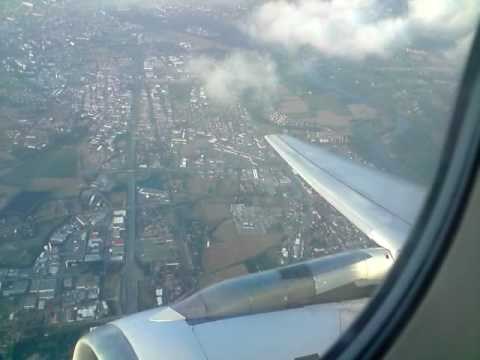 Vol air france d collage airbus a320 tls ory youtube for Interieur d avion air france